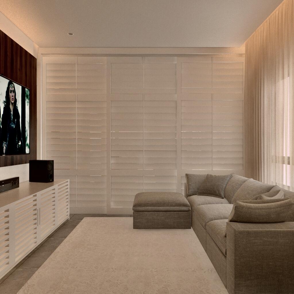 Sala de TV integrada - APTO RG