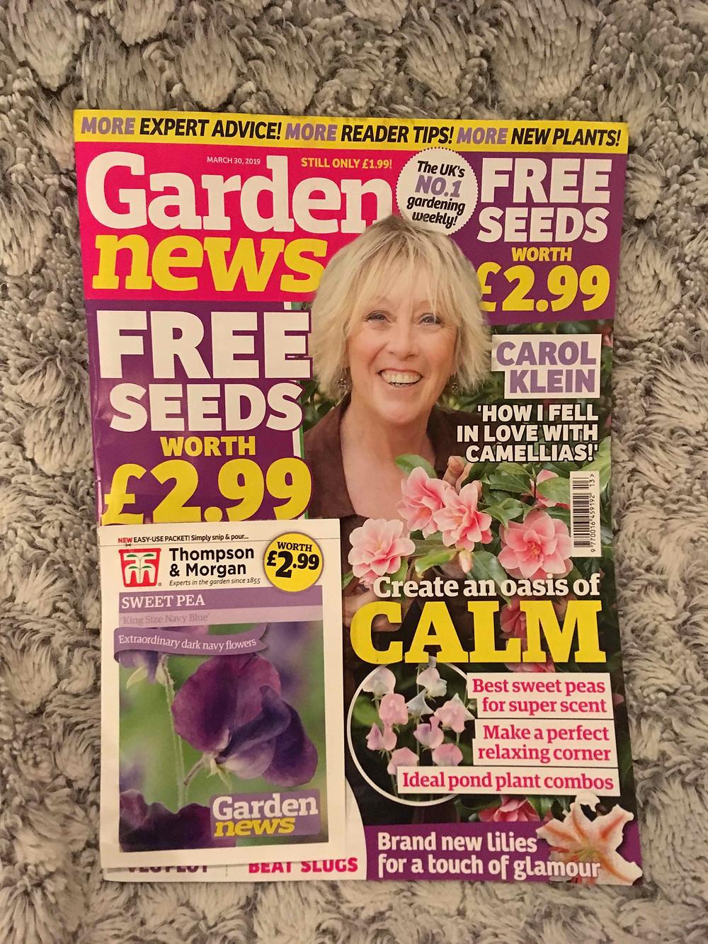 Garden News magazine 30 March 2019