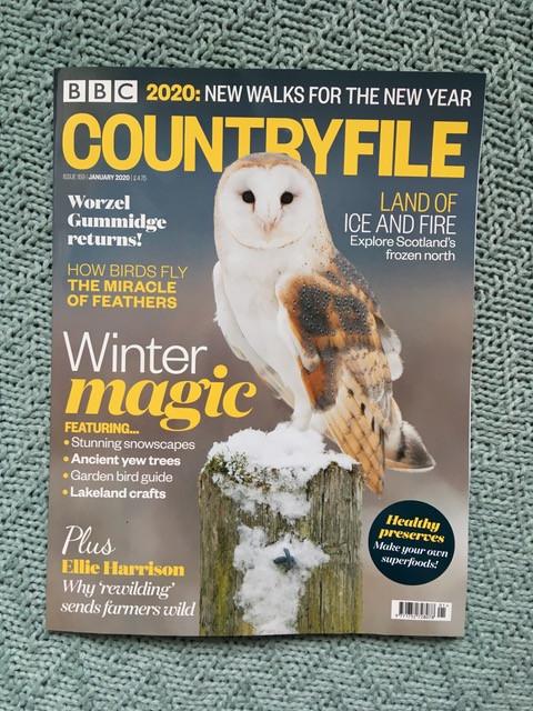 BBC Countryfile magazine January 2020