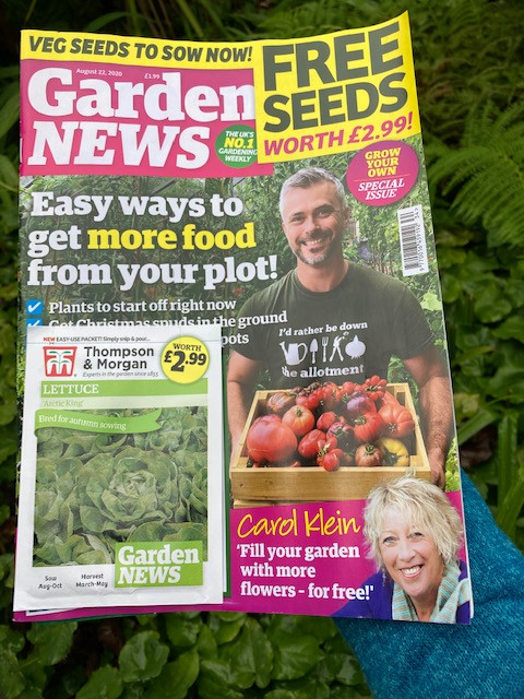 August edition of Garden news magazine