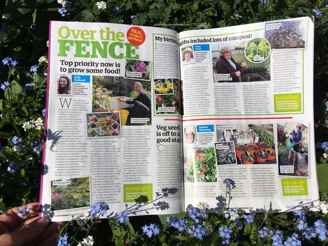 Over the Fence, Garden News Magazine April 2020