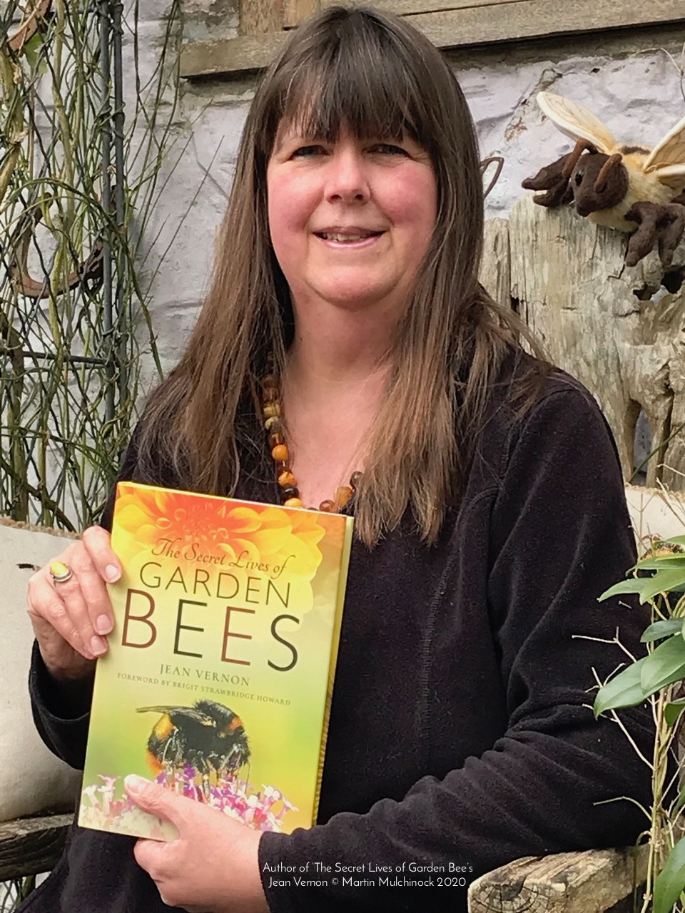 The Secret Lives of Garden Bees by author Jean Vernon