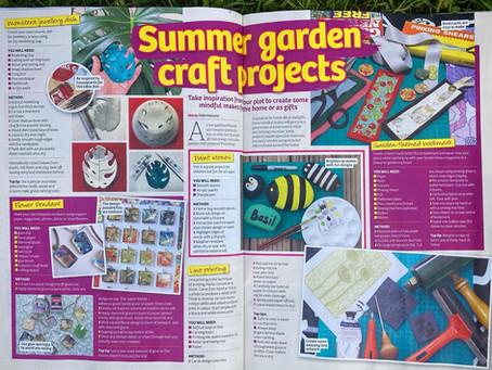 Garden News Magazine Summer Garden Craft Projects