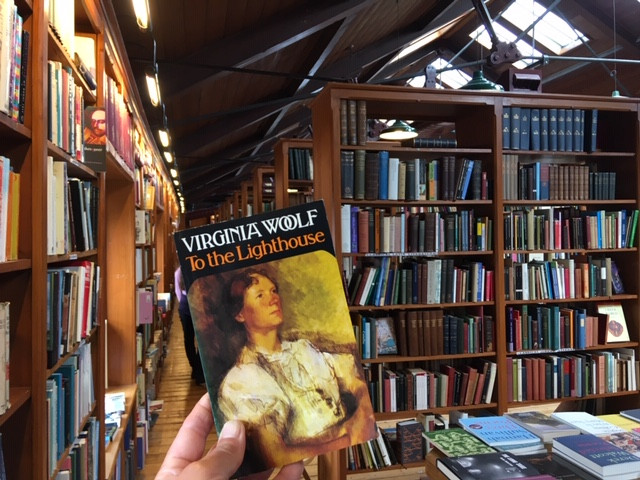 'To the Lighthouse' by Virginia Woolf, purchases earlier this year at Hay-on-Wye