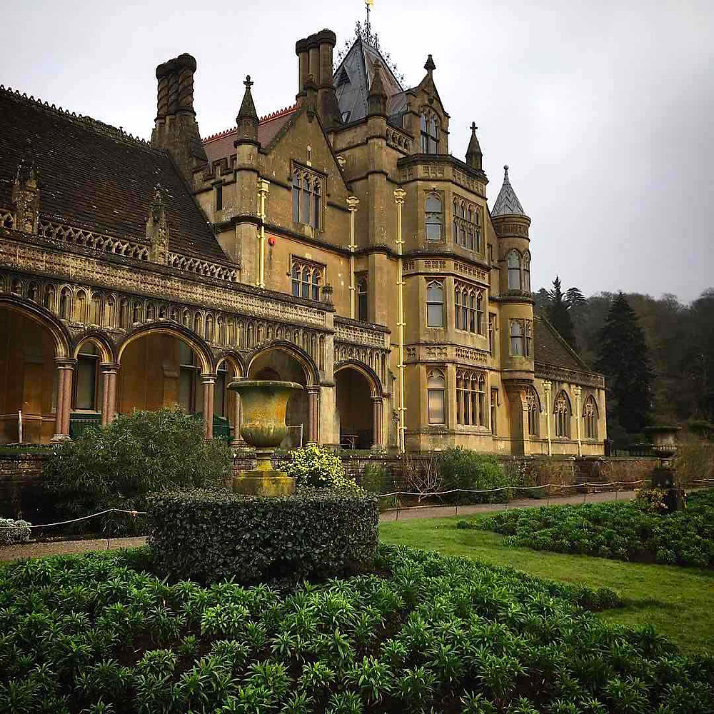 Tyntesfield Victorian Gothic revival house. Photo: Debi Holland