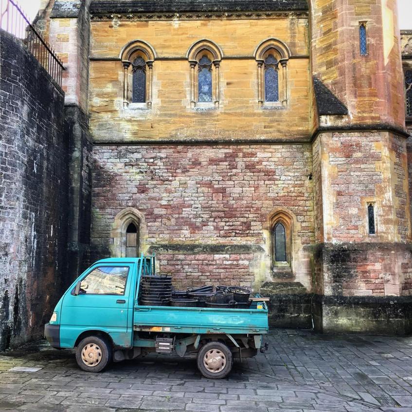 The Piaggio. Photo: LC