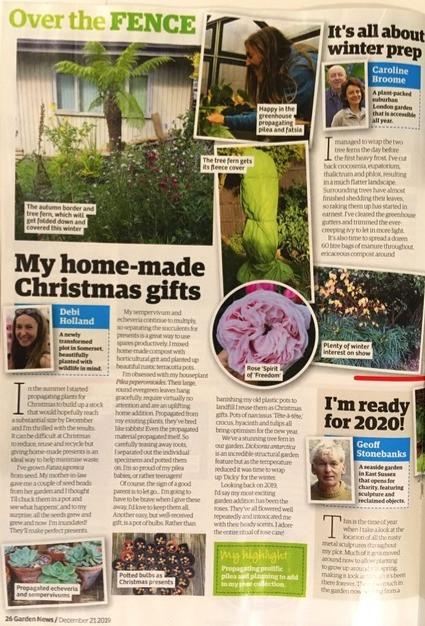 21 December Garden News magazine