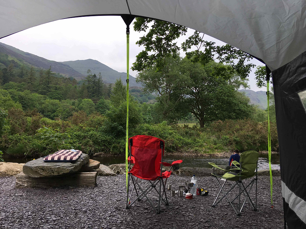 Camping - a room with a view