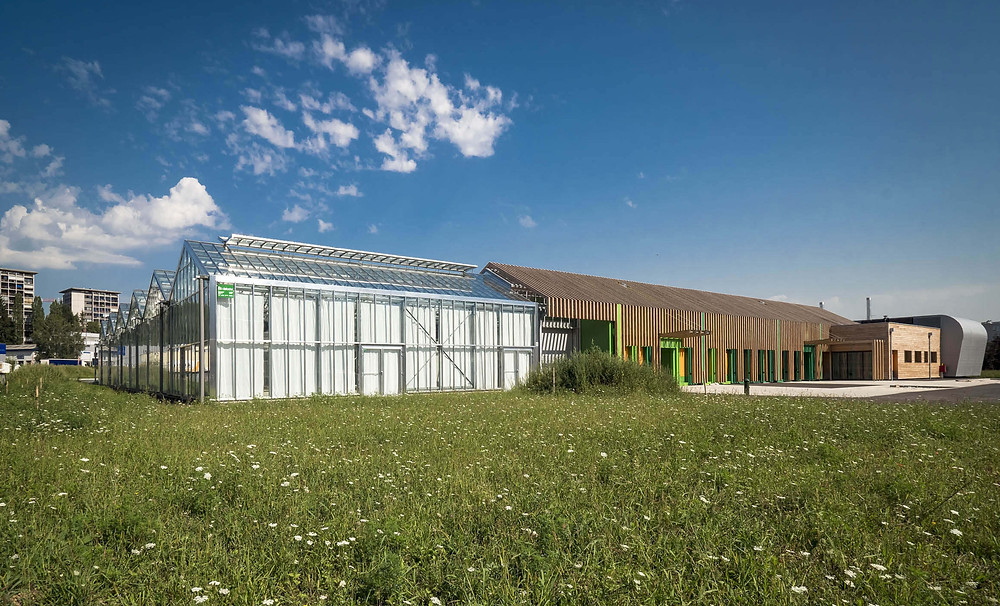 The New Municipal Horticulture Centre at Annecy. Photo c/o Futura A