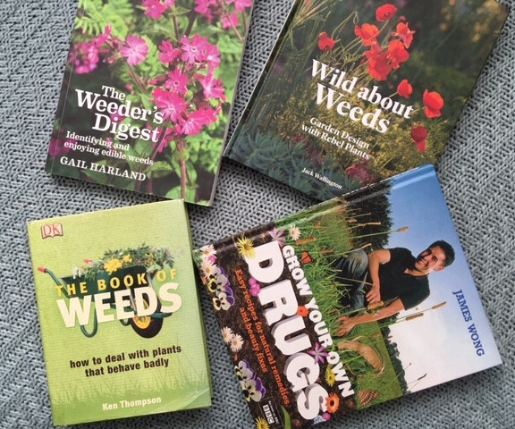 A selection of fantastic books all about weeds