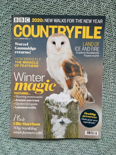 BBC Countryfile magazine January 2020 edition