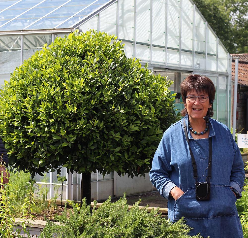 Jekka McVicar - Herbetum Open Day