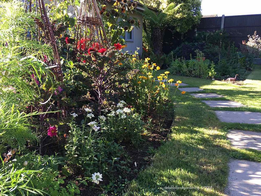 My October garden in full swing - still blooming!