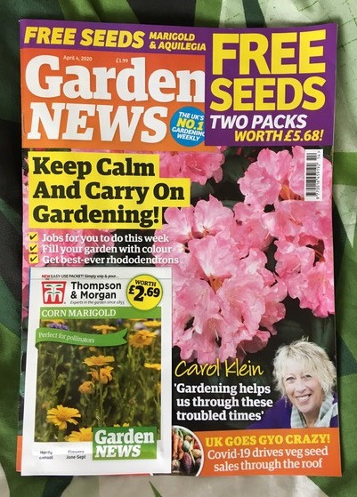 4 April 2020 edition Garden News Magazine