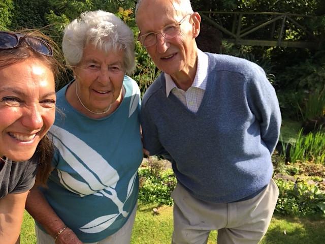 Good times at the Dew Pool. Bon voyage Margaret Ann & Ian