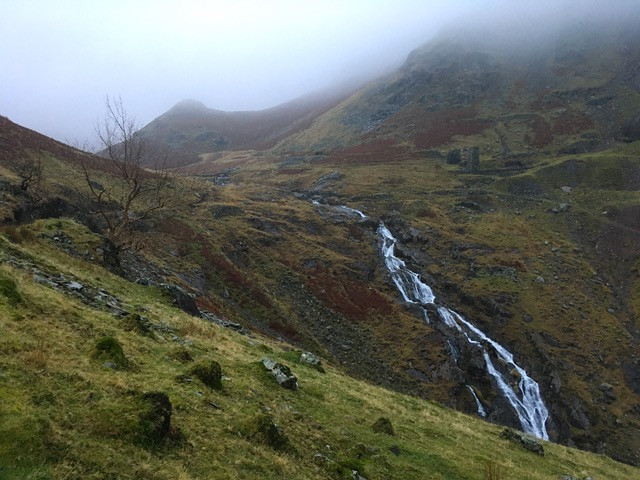 Levers waterfall