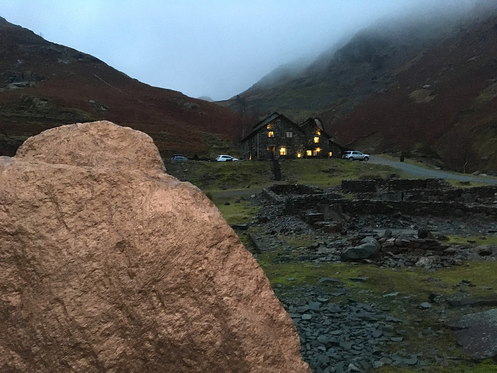 Heart Stone and Coppermine cottages up the valley