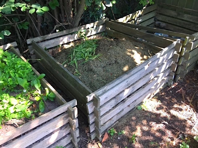 Compost heaps are an ecological way to recycle your garden waste