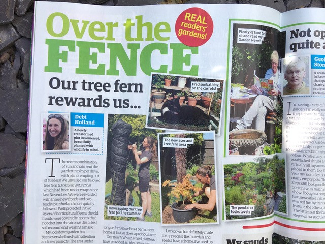 Over the Fence Garden News Magazine May 2020