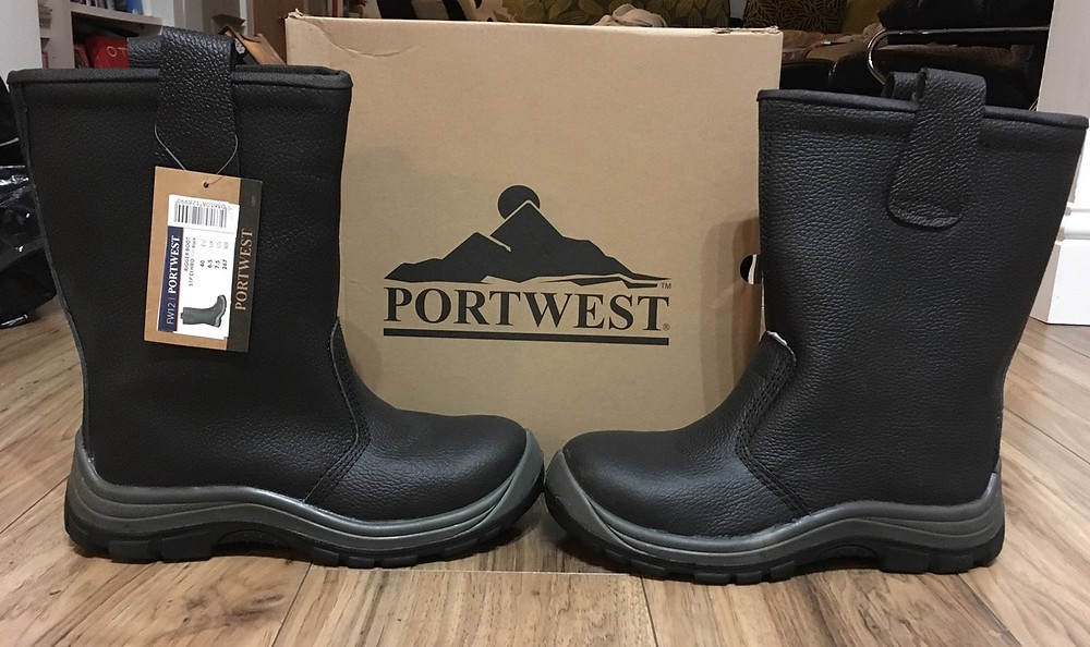 Portwest steel toe capped boots