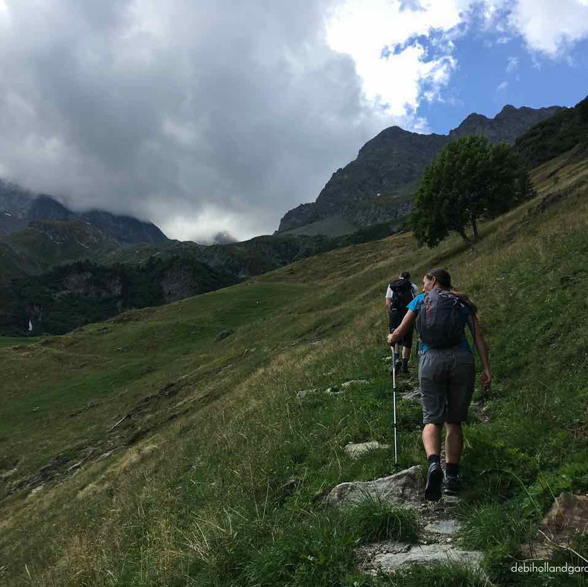 Up into the Vanoise Massif