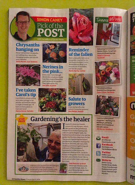 Pick of the Post in Garden News magazine