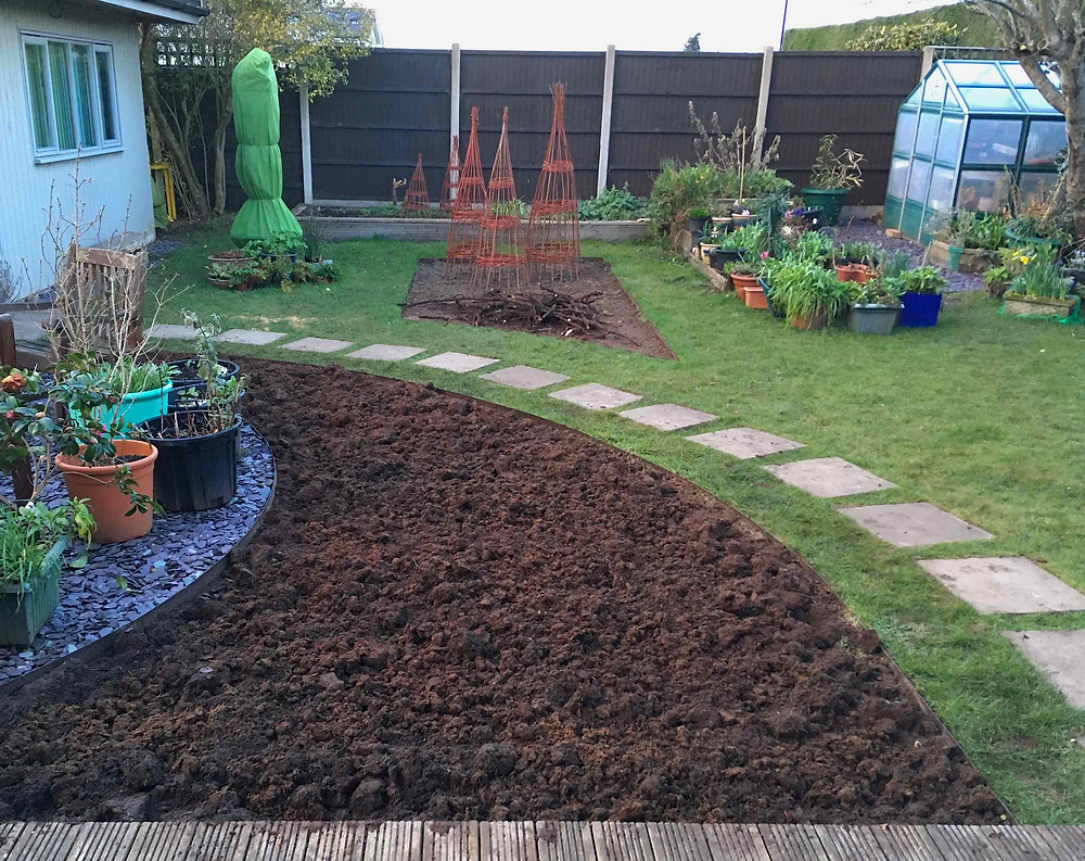 Landscaped, dug & ready to go!