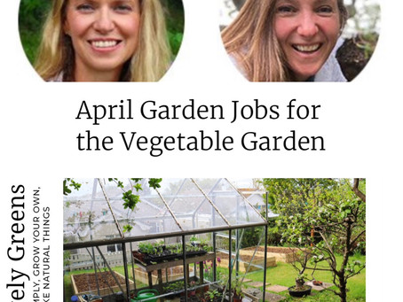 April Garden Jobs for the Vegetable Garden