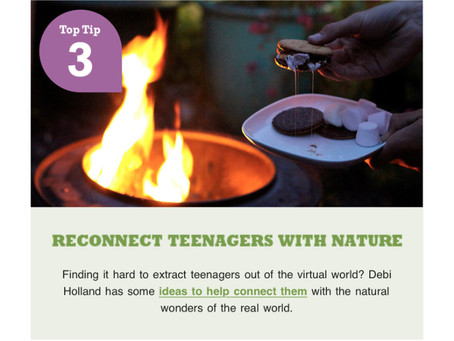 Richard Jackson Garden Reconnect Teenagers with Nature
