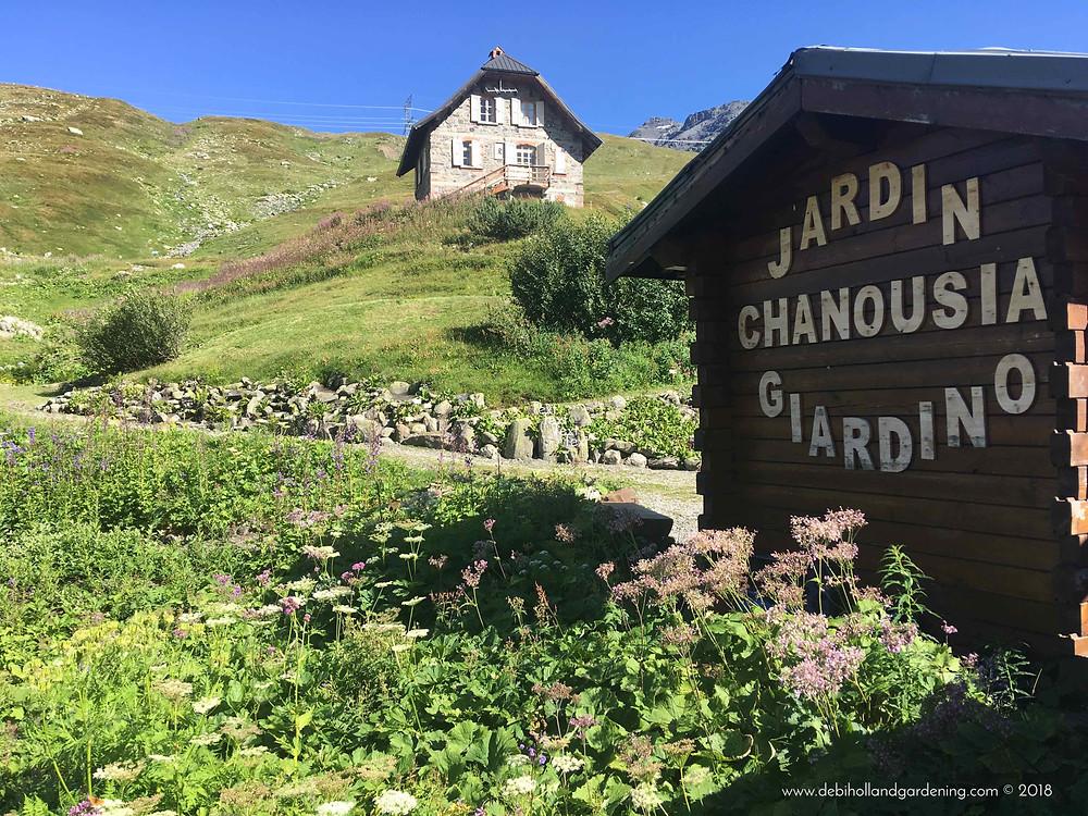 Jardin alpin la Chanousia