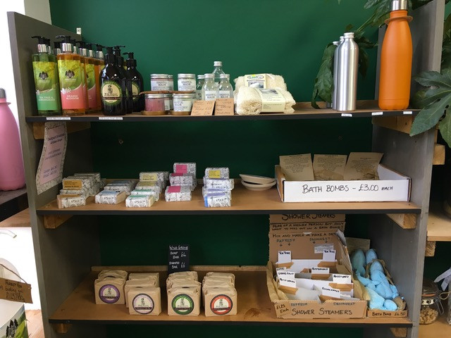 Locally made natural bathroom products