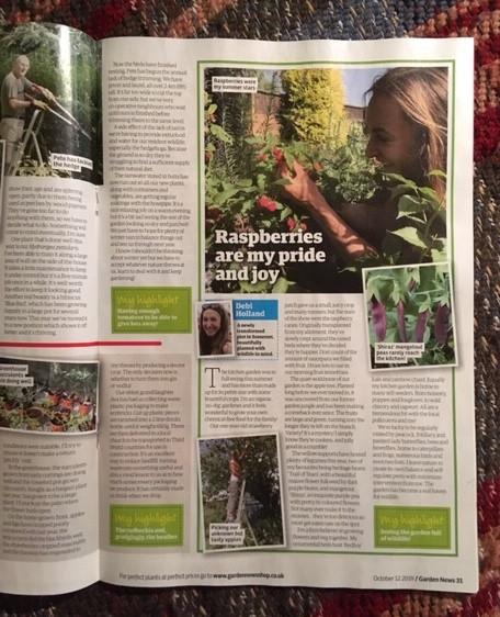Garden News magazine October 2019 publication