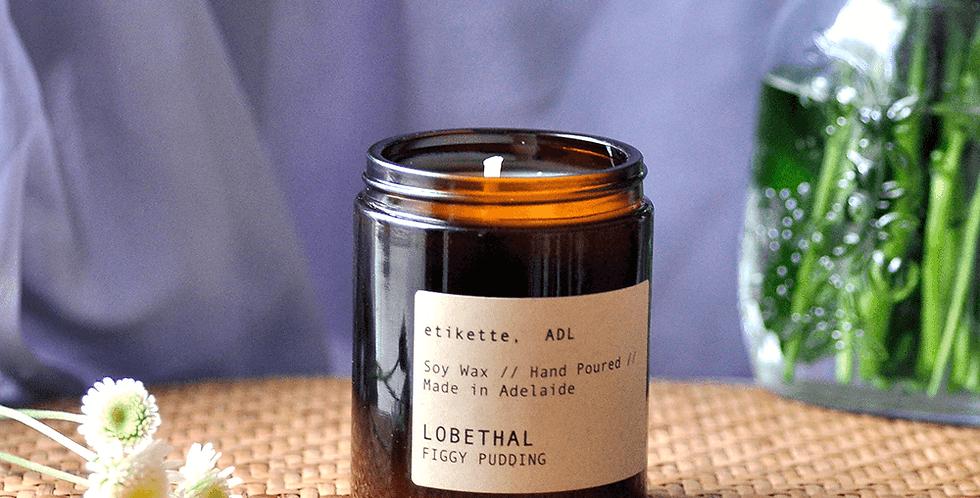 Lobethal // Figgy Pudding Single Wick Candle