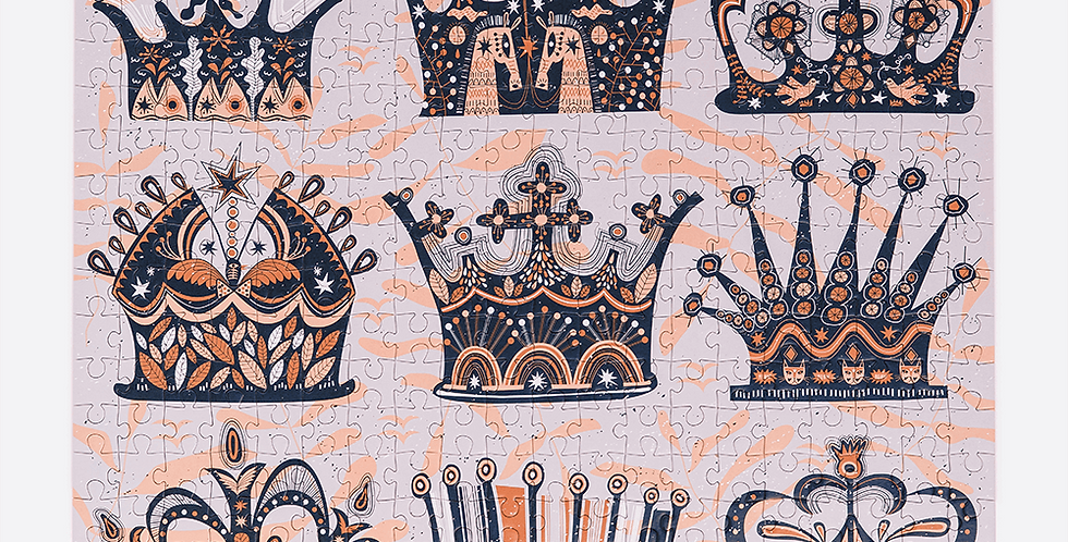 Mindful Puzzle Queenie