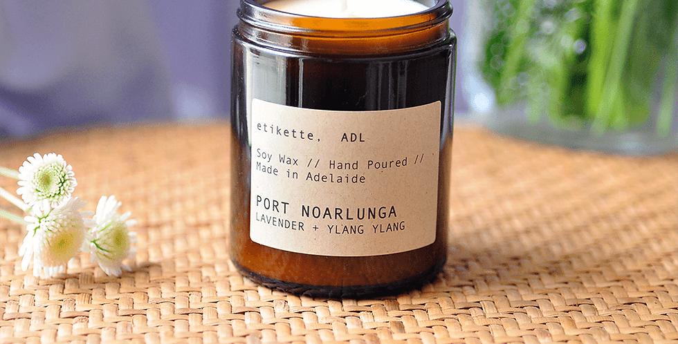 Port Noarlunga //  Lavendar + Ylang Ylang Single Wick Candle