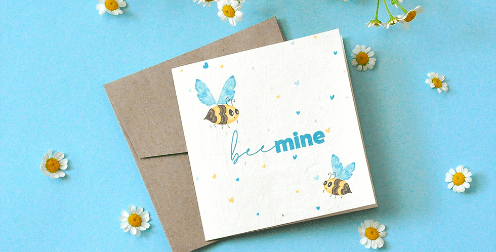 Bee Mine Plantable Gift Card
