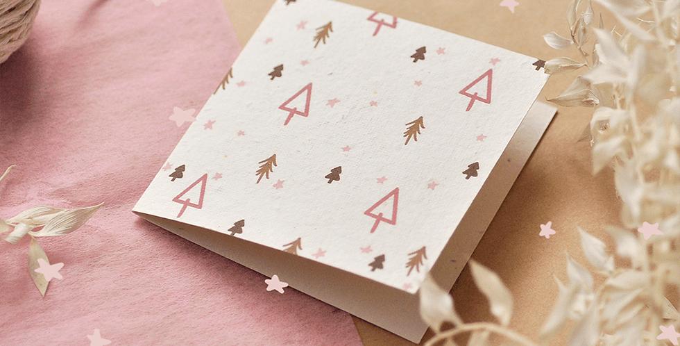 Christmas Tree Plantable Greeting Card