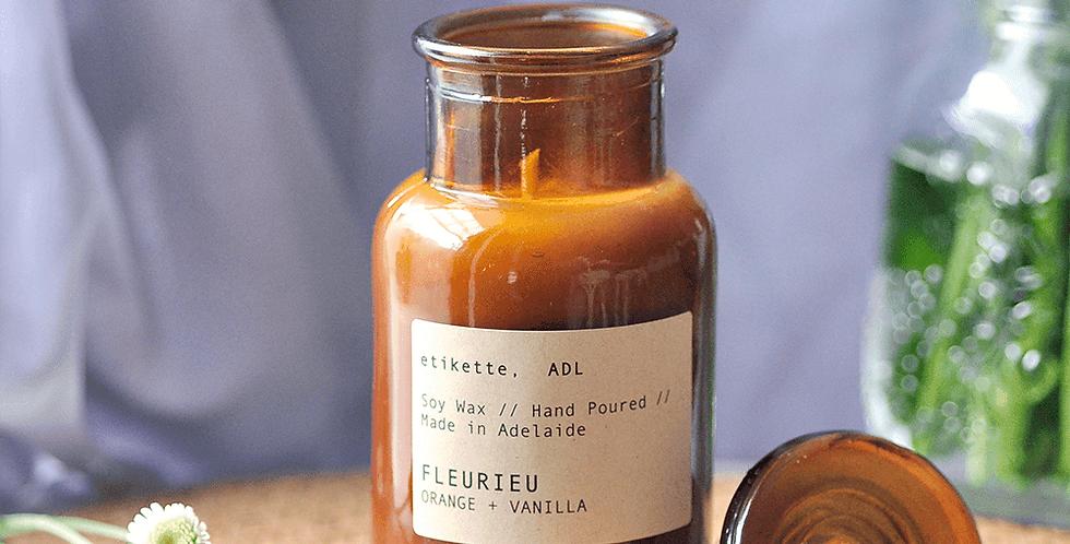 Fleurieu // Orange + Vanilla Apothecary Jar