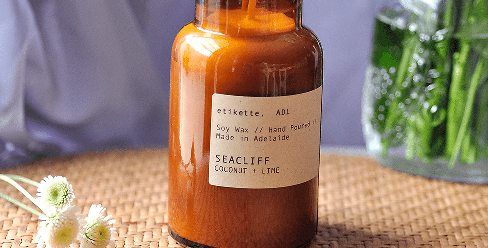 Seacliff // Coconut + Lime Apothecary Jar