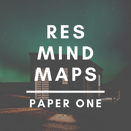RES Mind Maps (Paper One)