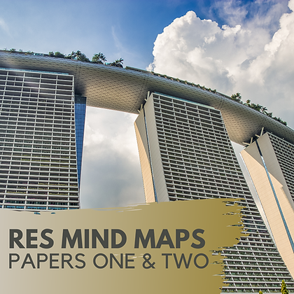 RES Mind Maps (Papers One & Two)