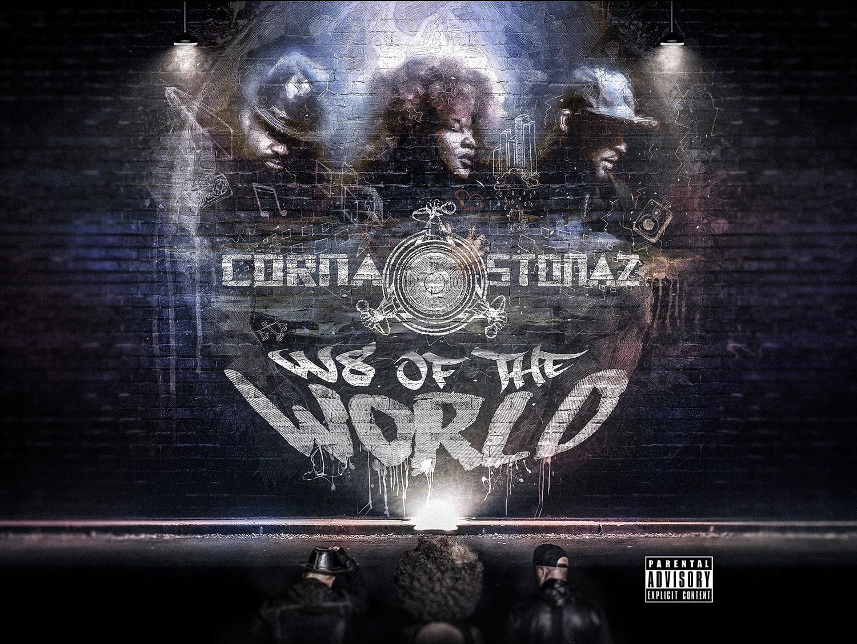 CORNASTONAZ W8 OF THE WORLD EP COVER