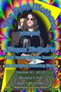 October 21, 2016 Wayne s World