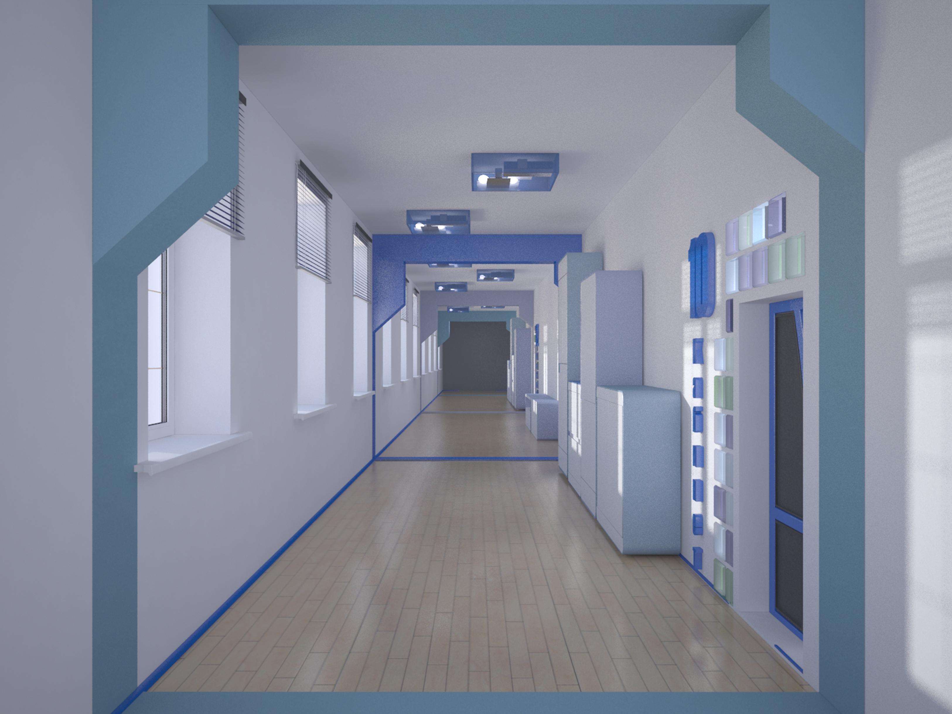 оформление коридоров в колледже фото активного