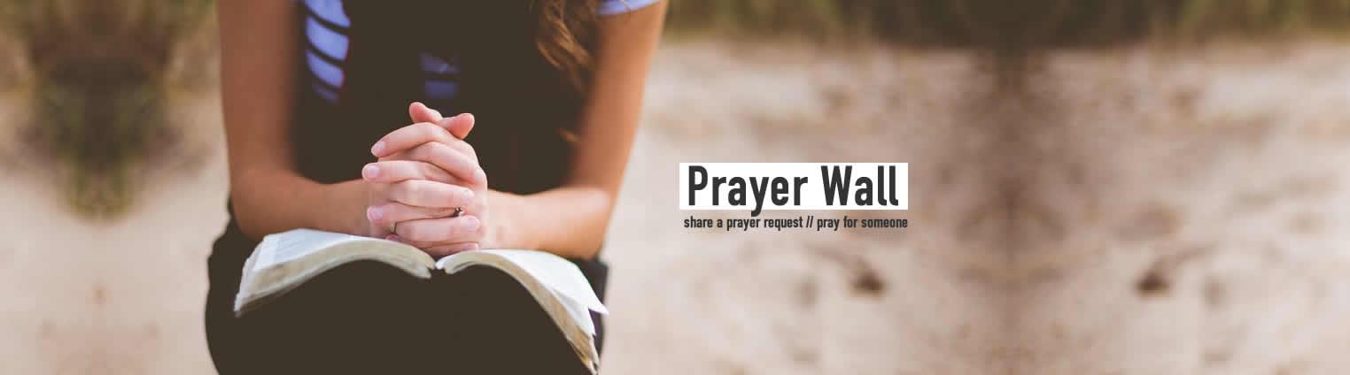 prayer wall web banner