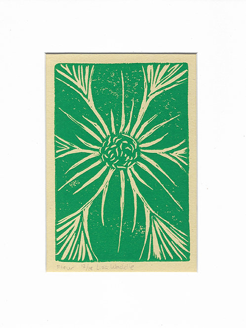 Fleur--Matted 8x10