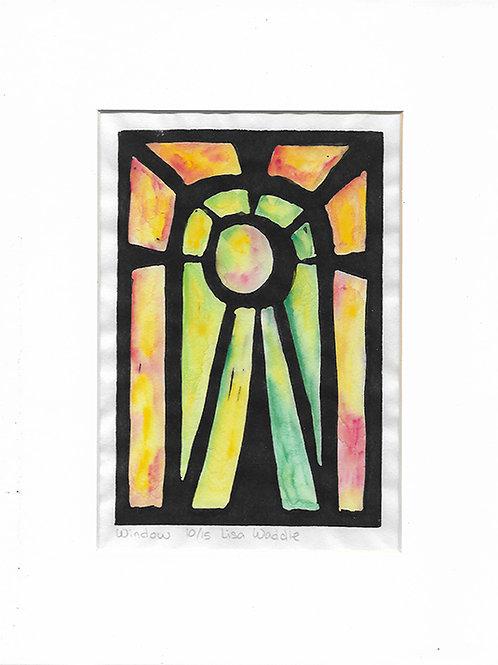 Window--Matted 8x10