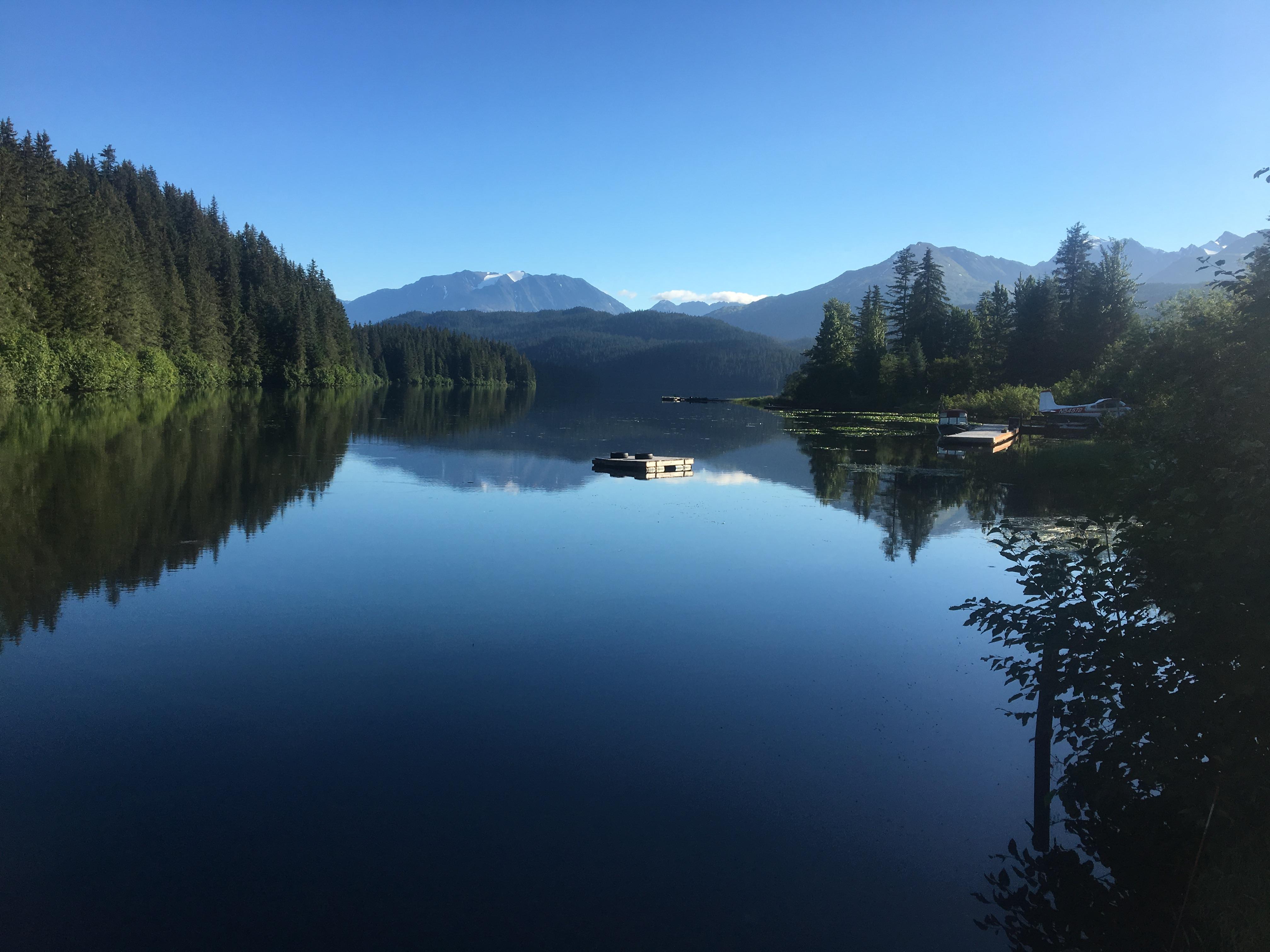 Bear Lake in Seward Alaska