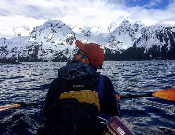 Winter Sea Kayaking Seward, Alaska
