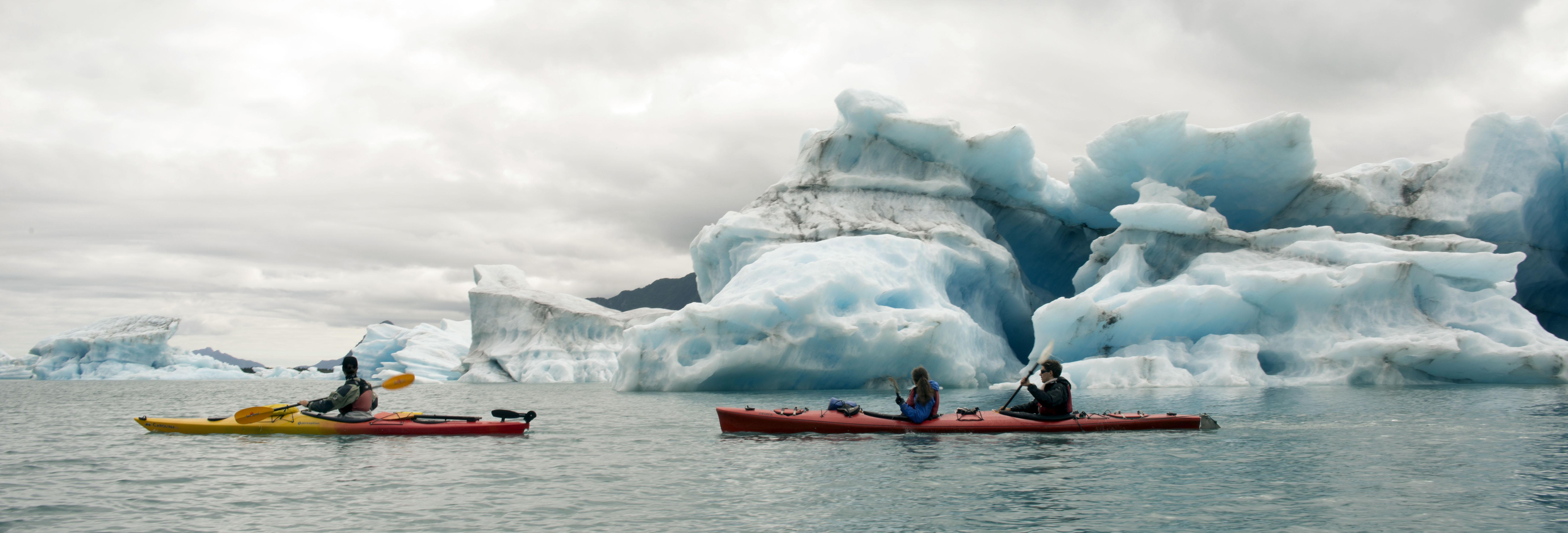 Heli-Kayak in Bear Glacier Lagoon! 2021